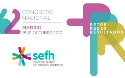 Presentación de la Red de Antídotos en el 62º Congreso de la SEFH