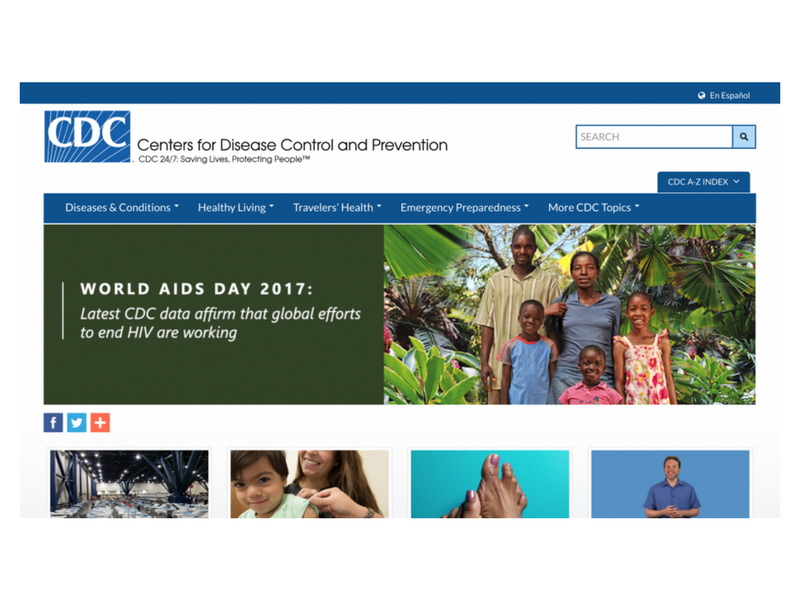 Centers for Diseases Control and Prevention (CDC)