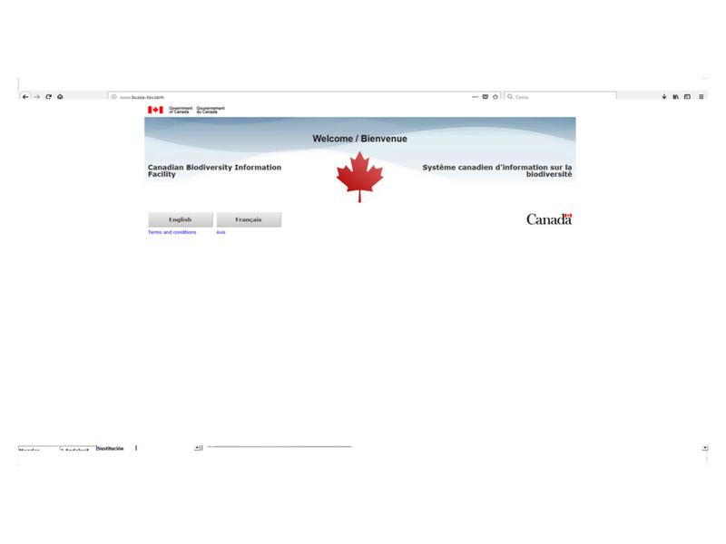 Canadian Biodiversity Information Facility (CBIF)