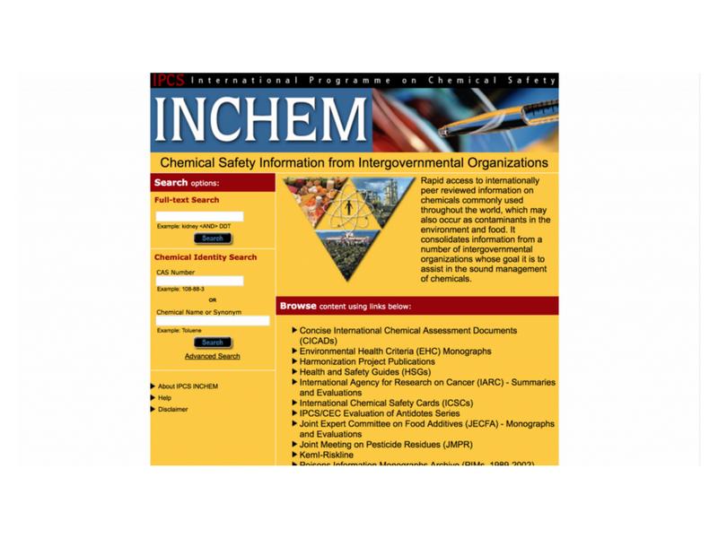 IPCS INCHEM
