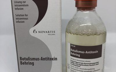 Incidencia de calidad en el suero antibotulínico disponible actualmente en los hospitales de España