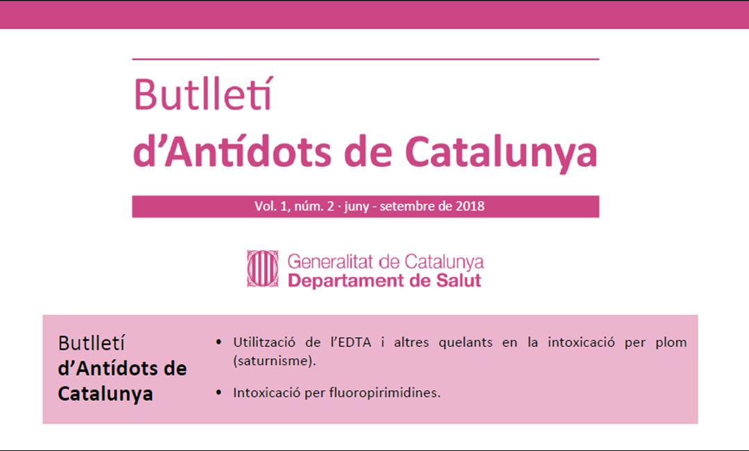 Disponible el segundo Butlletí d'Antídots de Catalunya (BAC)