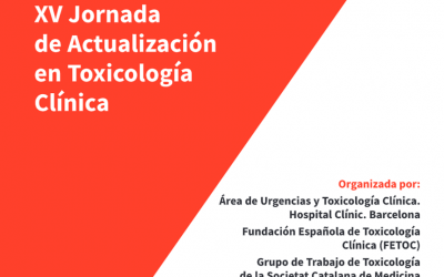 XV Jornada de Actualización en Toxicología Clínica