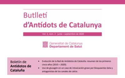 El glucagón y los cinco años de la Red, protagonistas del segundo Butlletí d'Antídots de Catalunya (BAC)